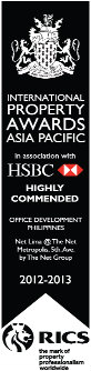 Highly Commended by International Property Awards